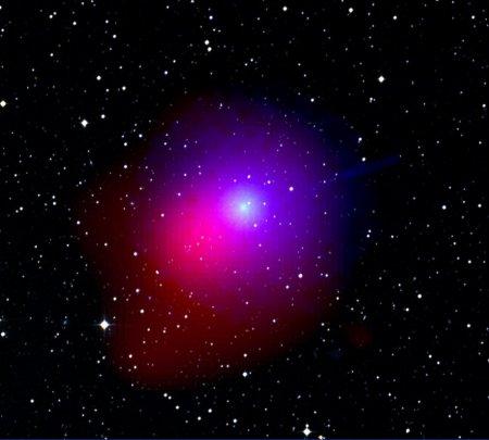 Комета Лулинь с обсерватории Свифт